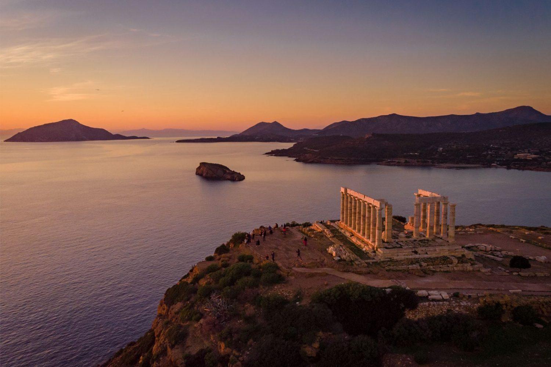 Sounio temple of Poseidon