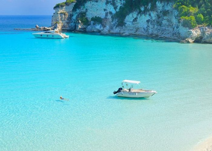 our speed boat tours at paxoi