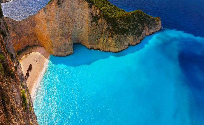 our speed boat tours at Zante island